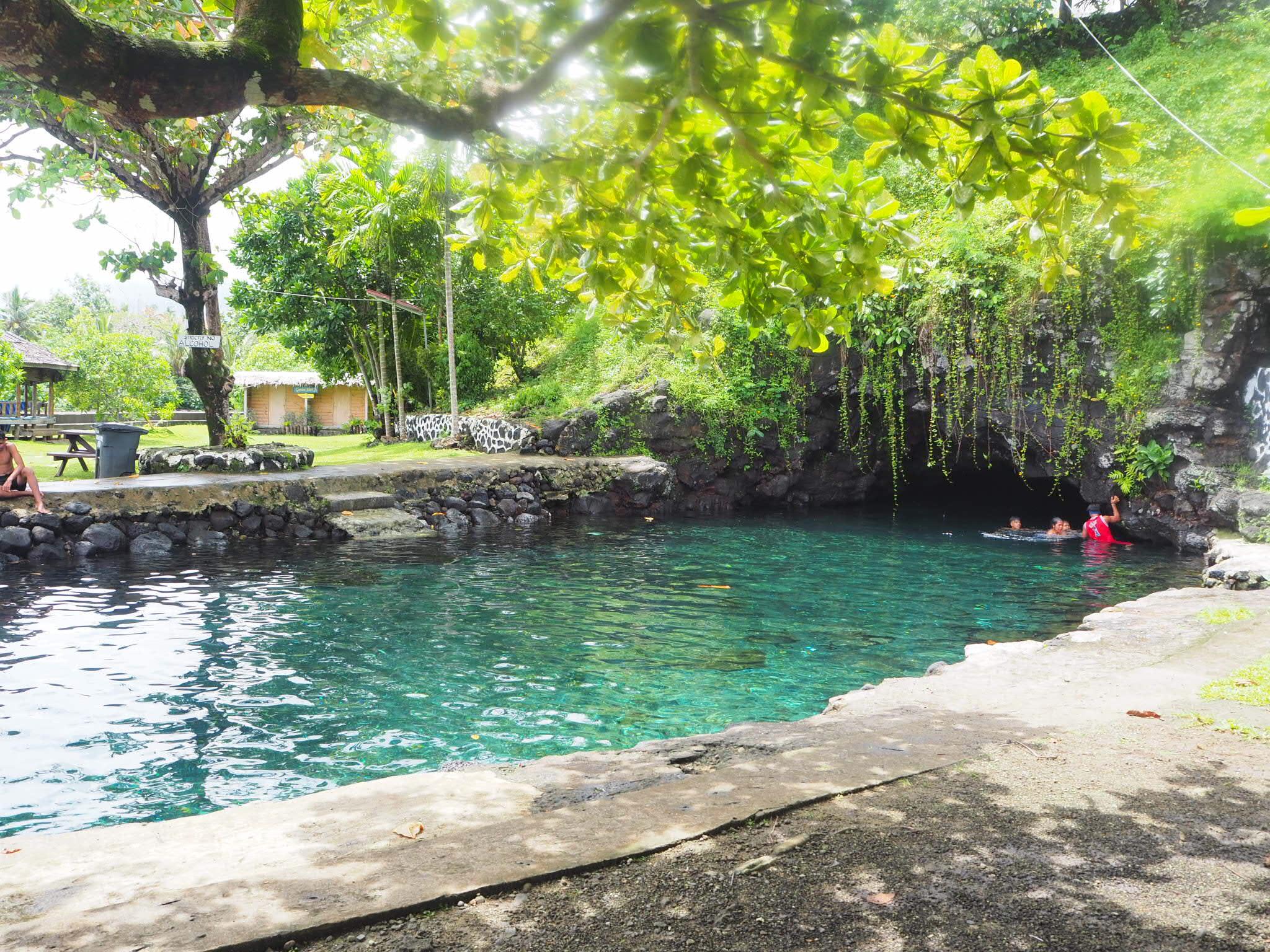 Piula Cave Pool