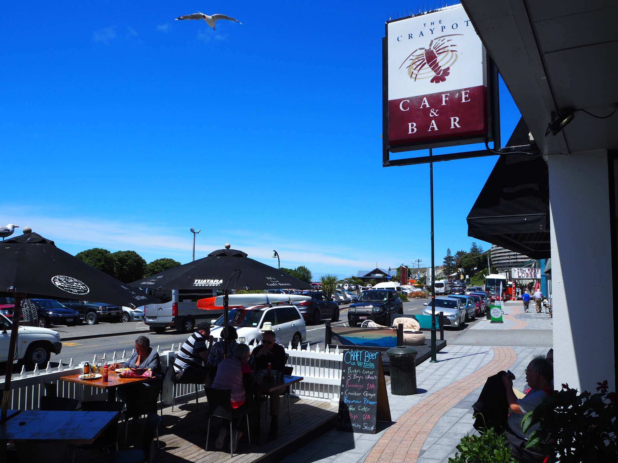 The Craypot Cafe and Bar, Kaikoura