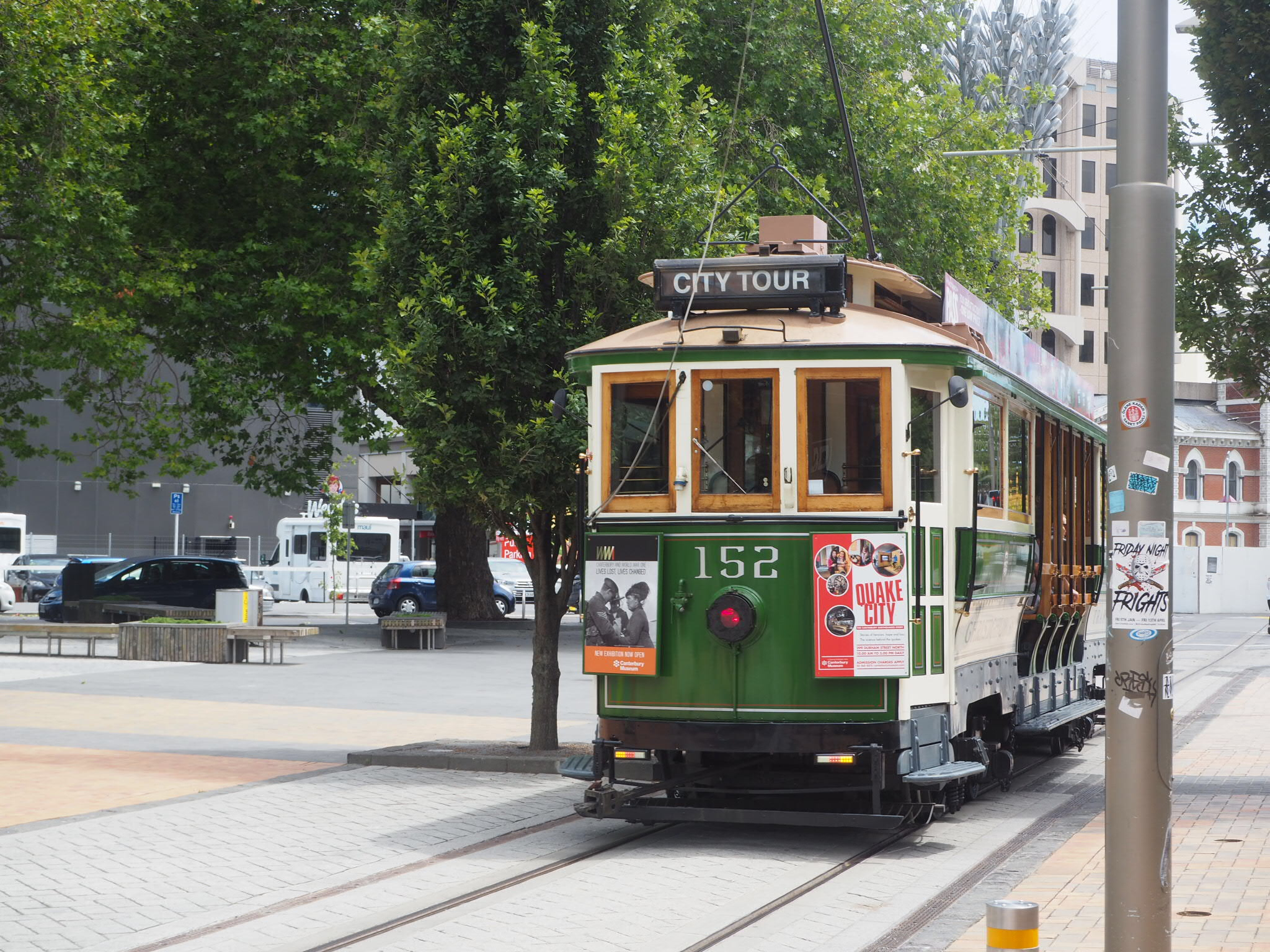 Tram, Christchurch city centre