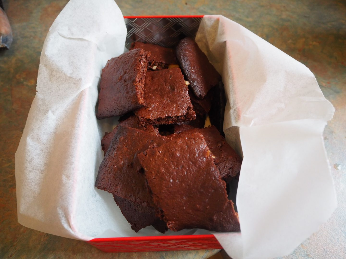 Skinny Minny Brownies
