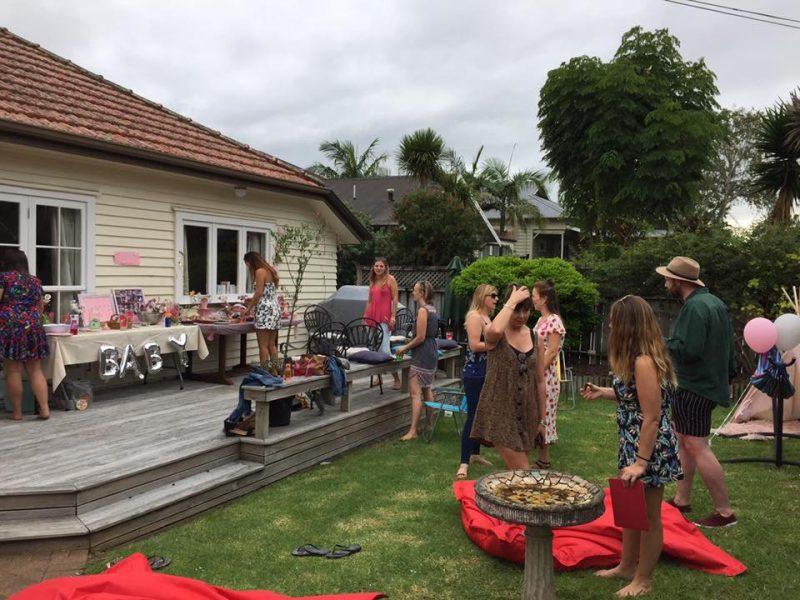 Rosie's Baby Shower, Mount Eden, Auckland
