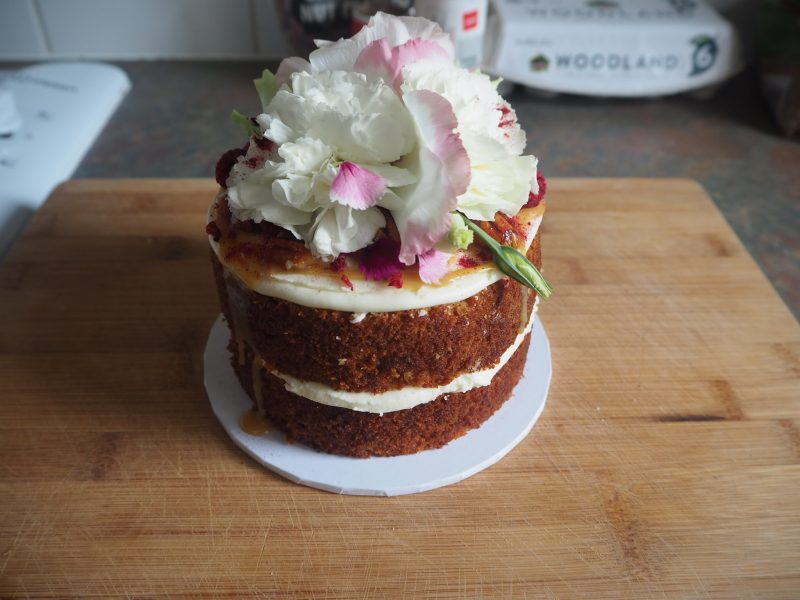 Cake from Miss Monday Flowers, Auckland
