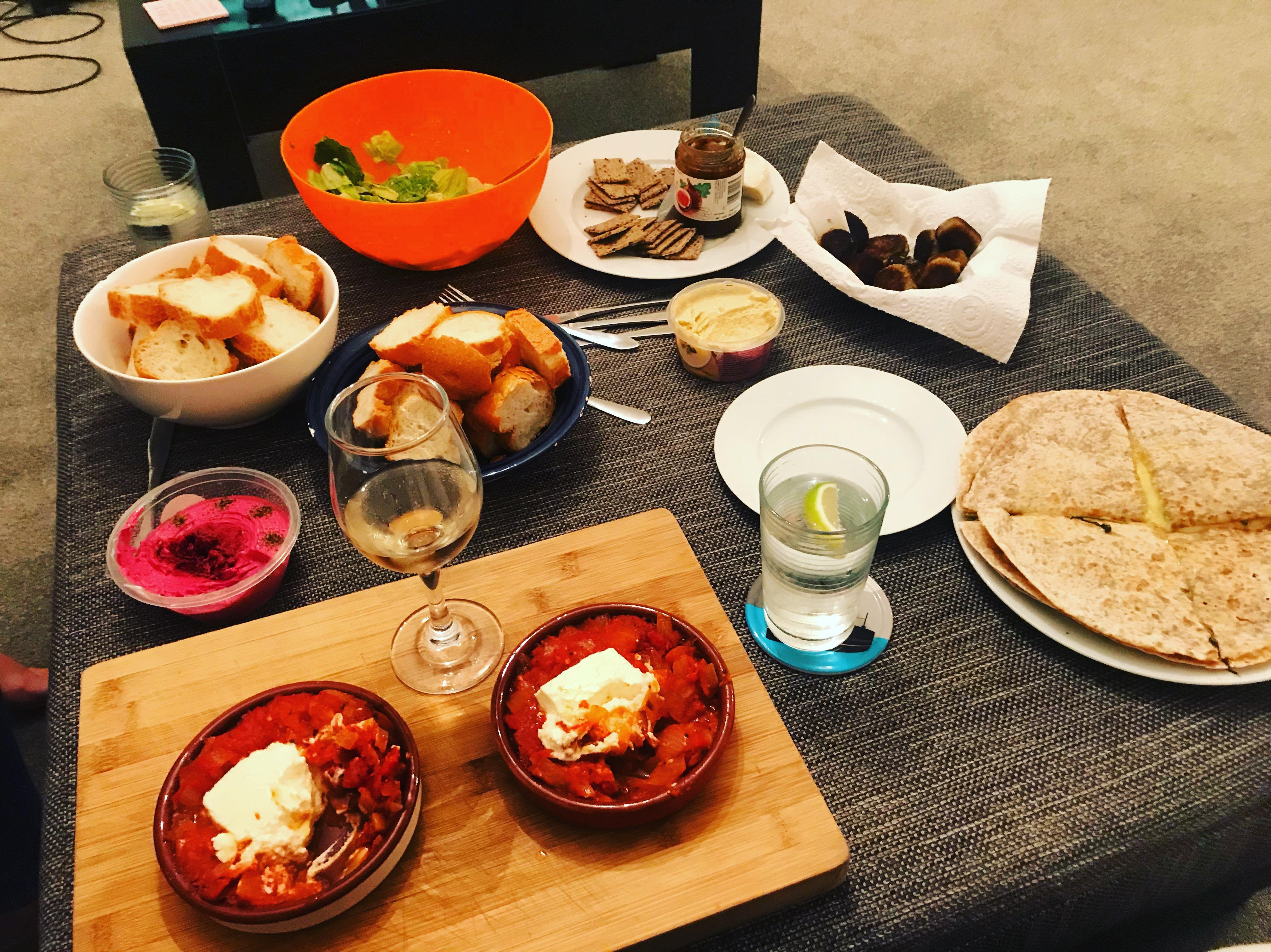 Girl's dinner, Auckland