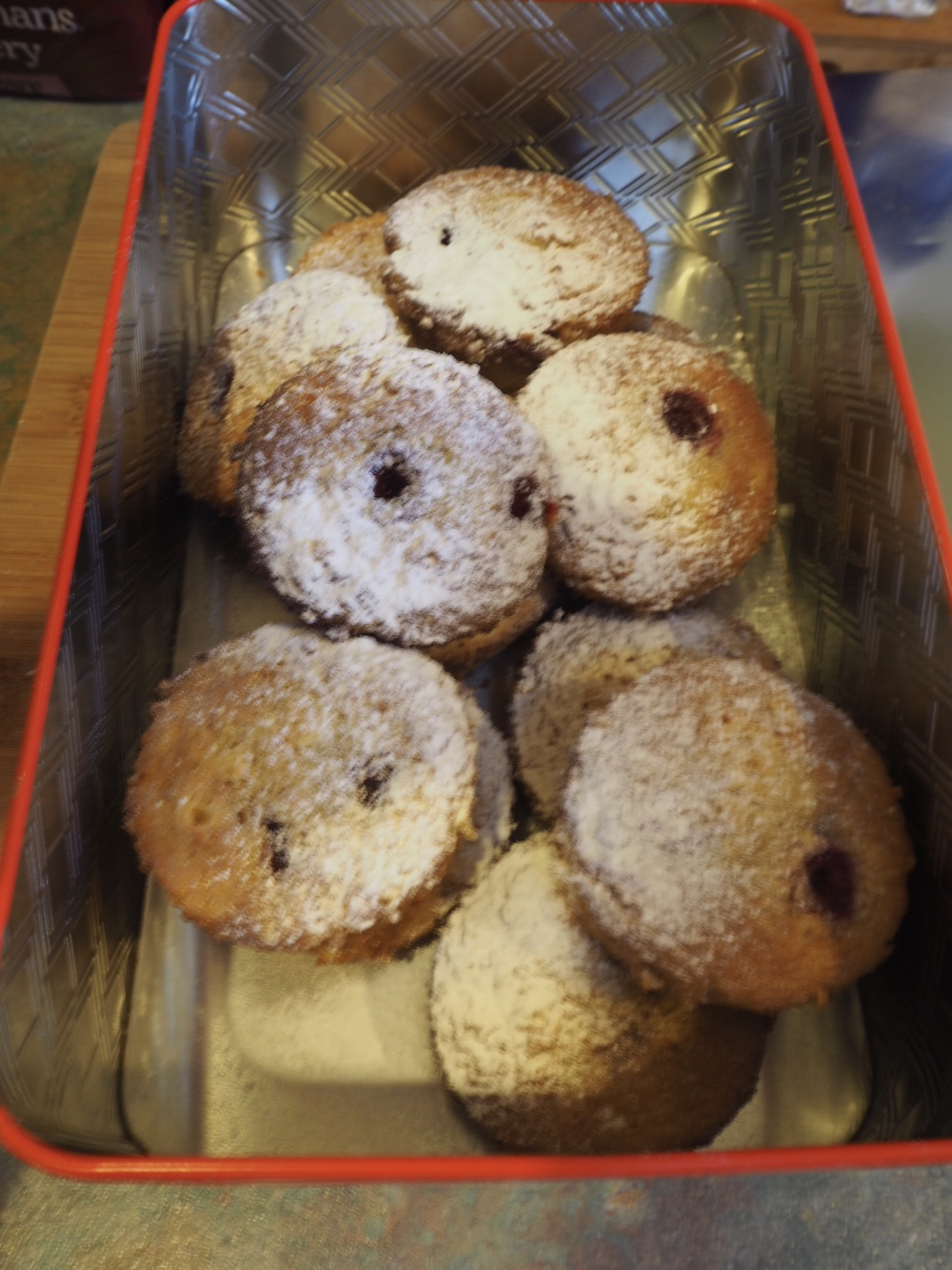 Raspberry and Vanilla Friands Recipe