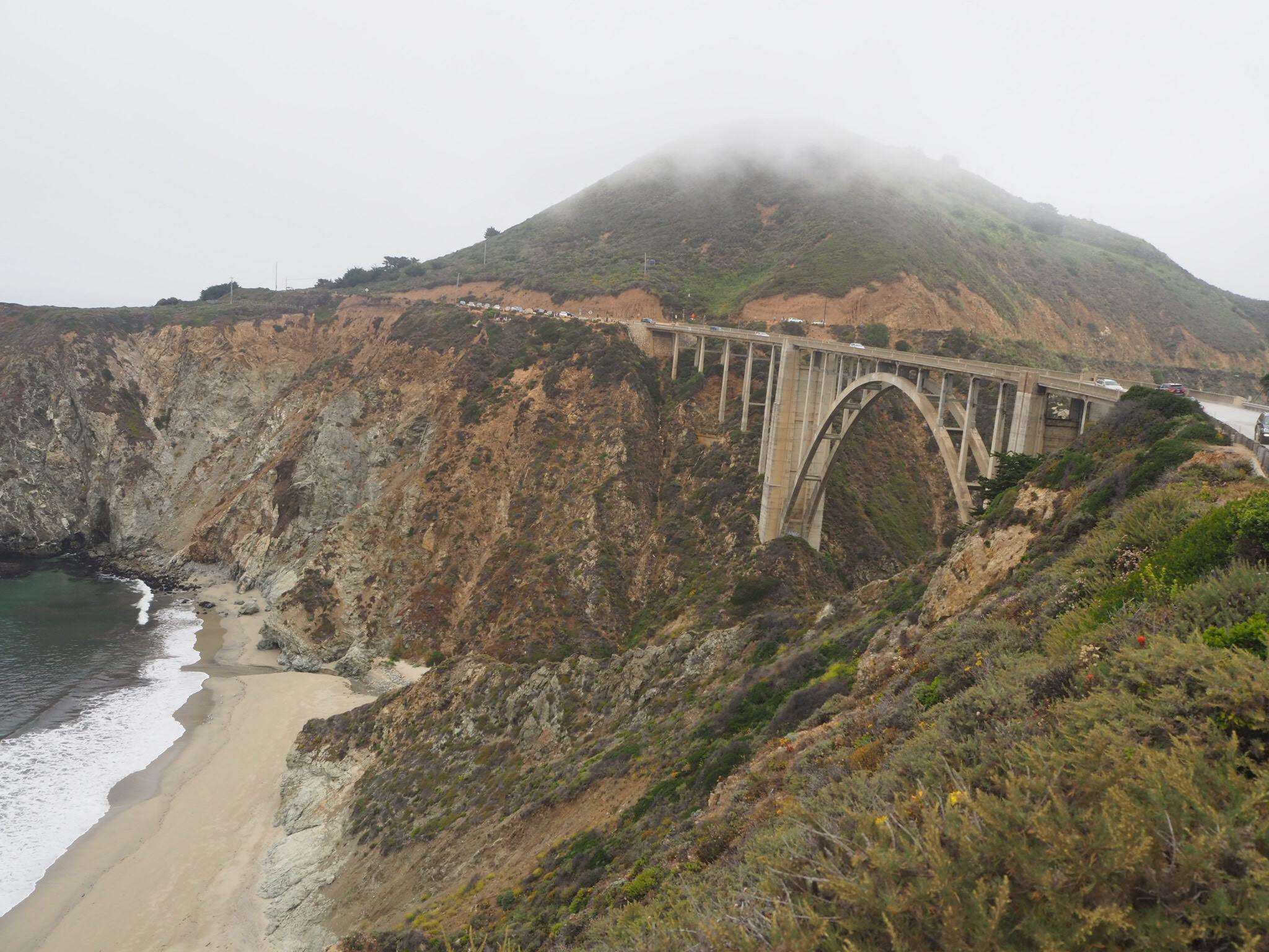 Bixby Bridge, Pacific Coast Highway, California