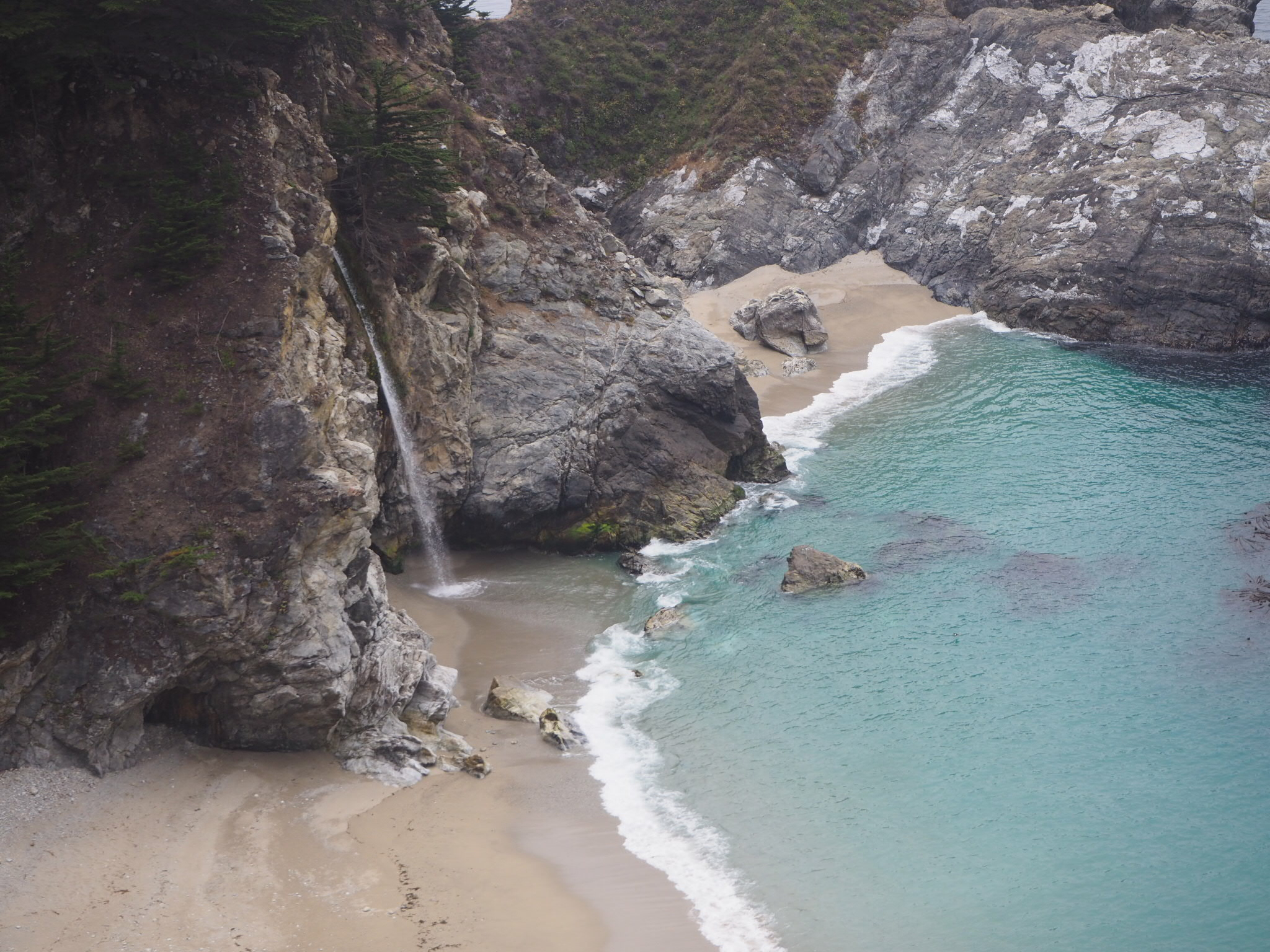 McWay Falls, Big Sur, Pacific Coast Highway, California