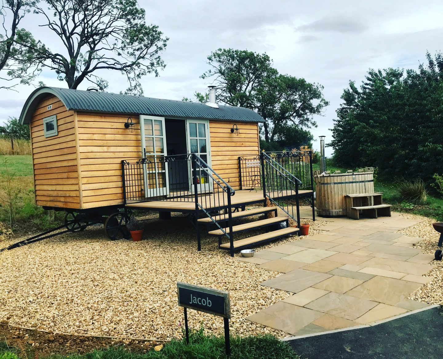 Glamping at Fair Farm Hideaway, Leicestershire