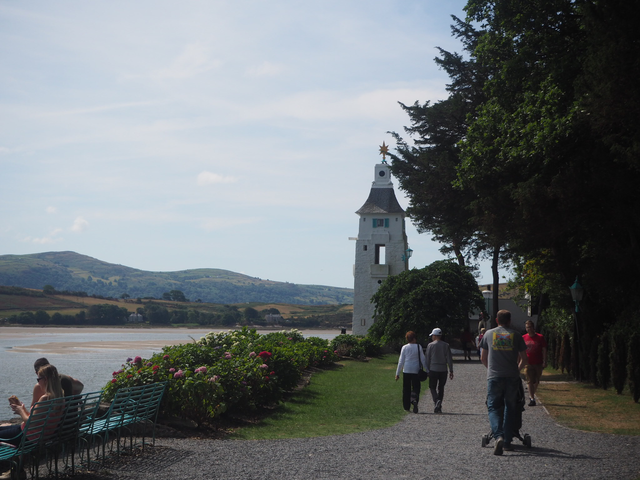 Portmeirion Village, North Wales, United Kingdom