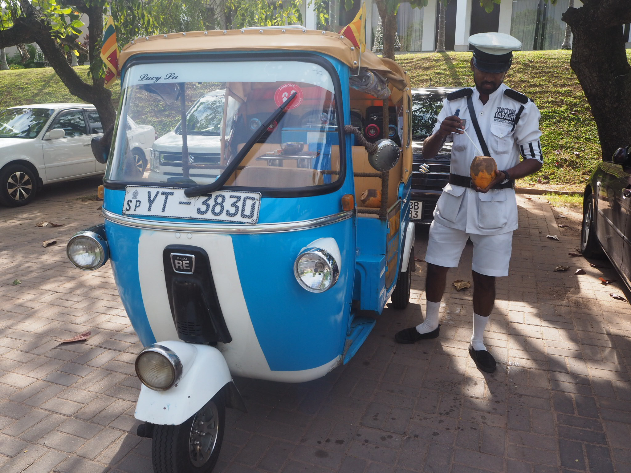 Tuk Tuk Safari, Colombo, Sri Lanka