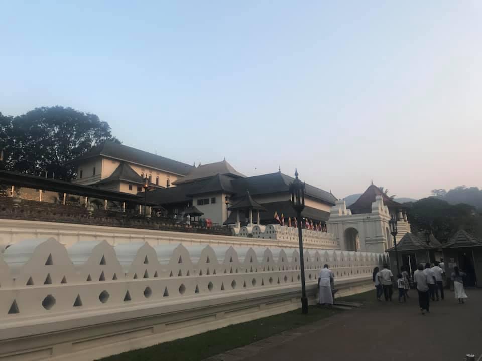 Temple of the Sacred Tooth, Kandy, Sri Lanka