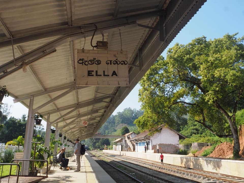 Ella Train Station, Sri Lanka